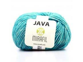 Java 64 tyrkysová melange