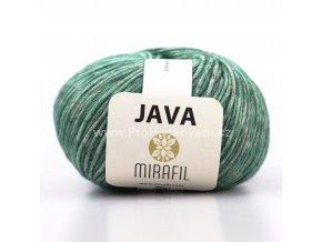 Java 63 zelená melange