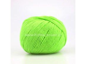 příze Jeans 8145 zelené jablko