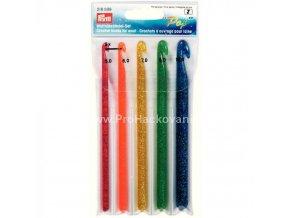 Sada plastových háčků Prym, vel. 5 - 10 mm