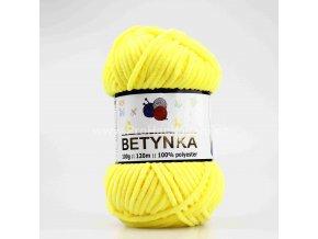 příze Betynka 313  žlutá