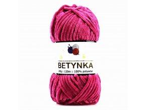 příze Betynka 310 růžově vínová