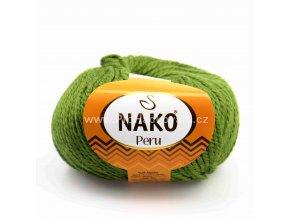 příze Peru 23111 olivově zelená