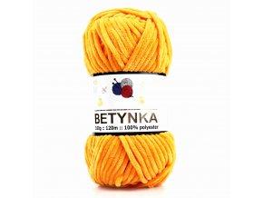 příze Betynka 368 slunečnicová