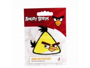 Nažehlovací aplikace Angry Birds žlutý