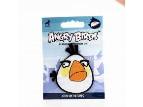 Nažehlovací aplikace Angry Birds bílý