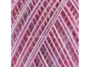 příze Violet 3051 růžová krémová