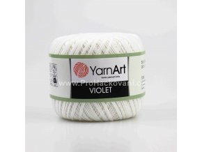 příze Violet 003 smetanová