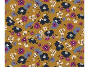 tencel-modal-uplet-modre-a-fuchsiove-kvety-na-horcicove