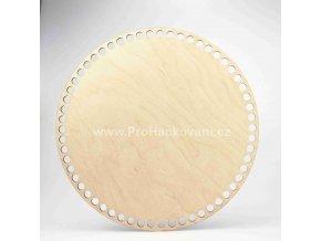 Dno na košík kruh Ø 25 cm bříza