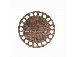 Dno na košík kruh Ø 10 cm dub