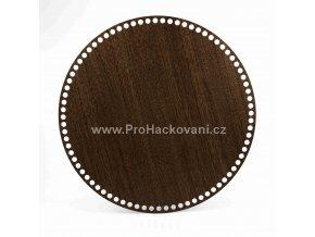 Dno na košík kruh Ø 35 cm ořech