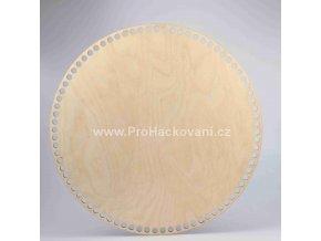 Dno na košík kruh Ø 35 cm přírodní
