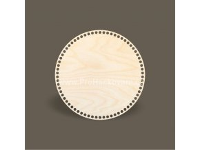 Dno na košík kruh Ø 30 cm březová překližka
