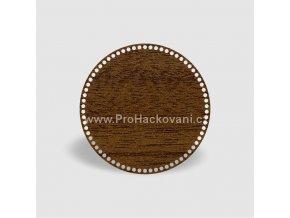 dno kruh 30 cm ořech