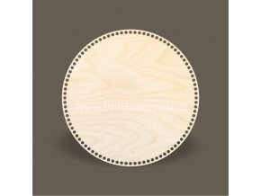 Dno na košík kruh Ø 40 cm bříza