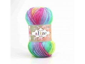 příze Bella Batik 4151 barevný mix