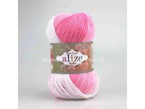 příze Bella Batik 2126 světle růžová