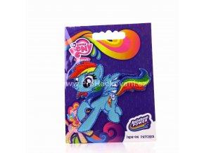 Nažehlovací aplikace My little pony Rainbow Dash
