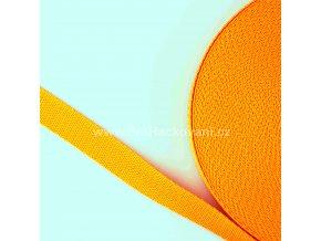 Popruh polypropylénový 2 cm oranžovožlutý
