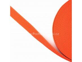 Popruh polypropylénový 2 cm oranžový