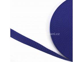 Popruh polypropylénový 2 cm královsky modrý