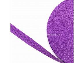 Popruh polypropylénový 2 cm fialový
