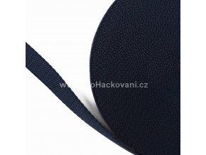 Popruh polypropylénový 2 cm tmavě modrý
