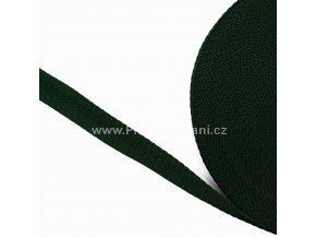 Popruh polypropylénový 2 cm tmavě zelený