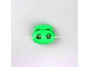 Brzdička dvoušňůrová velká zelená