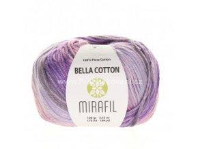 příze Bella Cotton Smart 513 odstíny fialové