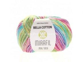 příze Bella Cotton Smart 511 duhový mix