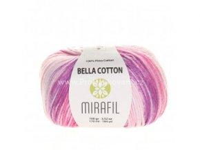 příze Bella Cotton Smart 528 odstíny růžové