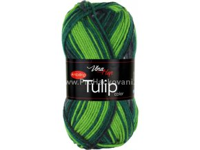Tulip color 5212 variace zelené a šedé