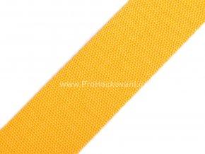 Popruh polypropylénový 4 cm oranžovožlutý