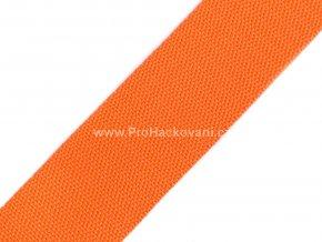 Popruh polypropylénový 4 cm oranžový