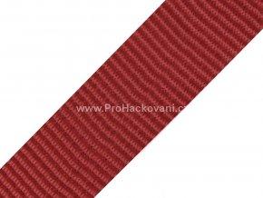 Popruh polypropylénový 4 cm bordó