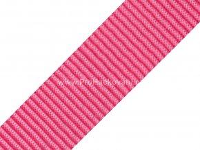 Popruh polypropylénový 4 cm růžový