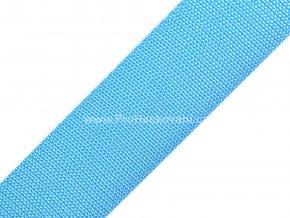 Popruh polypropylénový 4 cm nebesky modrý