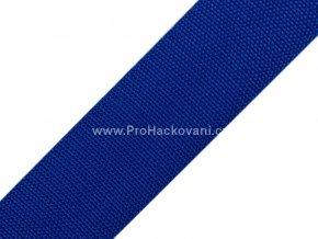 Popruh polypropylénový 4 cm královsky modrý