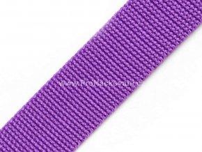 Popruh polypropylénový 4 cm fialový