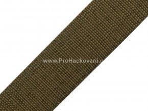 Popruh polypropylénový 4 cm khaki