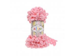 příze Puffy 185 jemná růžová