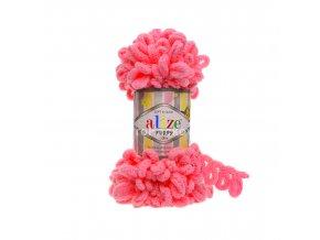 příze Puffy 377 neonově růžová