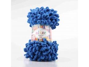 příze Puffy Fine 637 modrá jeans