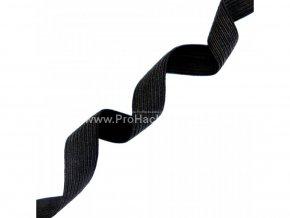 Guma prádlová 30 mm černá