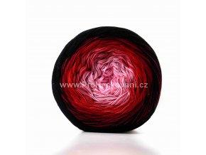 Soft Cake 50015 světle růžová, starofialová, červená, burgundy, černá