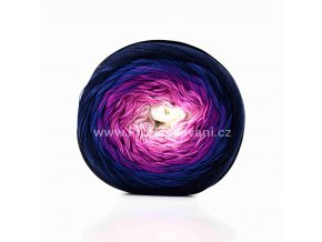 Soft Cake 50008 bílá, lila, fialová, tmavě modrá, temně modrá