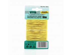 Klobouková guma 1,2 mm - na kartě žlutá