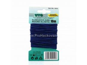Klobouková guma 1,2 mm - na kartě modrá